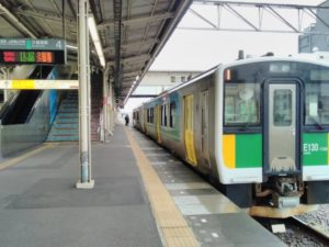 久留里線E130系